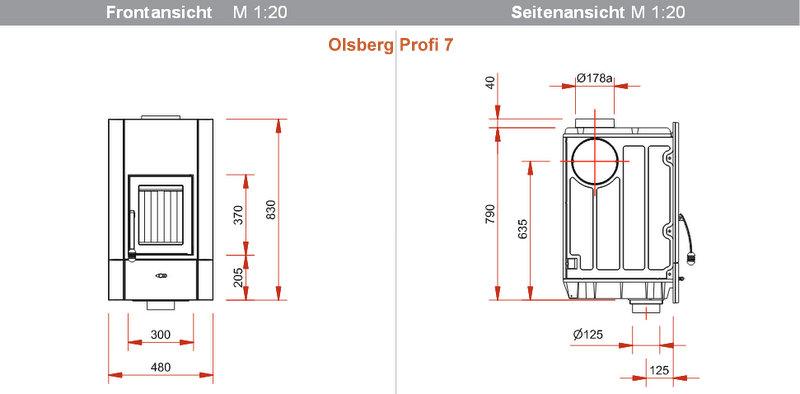 olsberg profi 7 und profi 12 ab ofen taxi. Black Bedroom Furniture Sets. Home Design Ideas