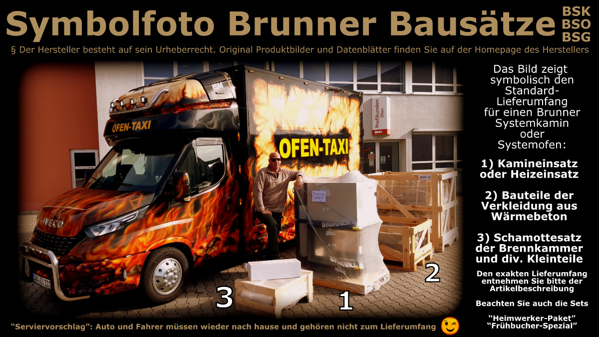 Brunner BSK 02 Kessel | OFEN-TAXI | Tagespreis heute: € 6.396,49
