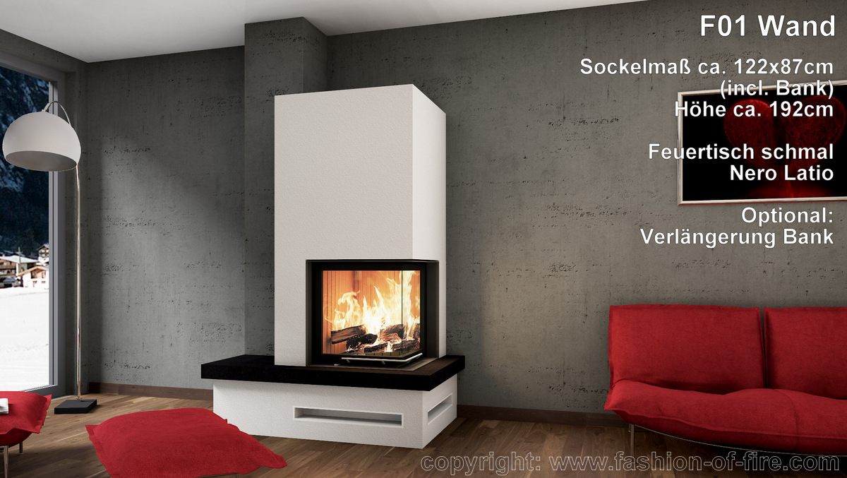 fashion of fire f01 mit brunner kamin und feuertisch. Black Bedroom Furniture Sets. Home Design Ideas