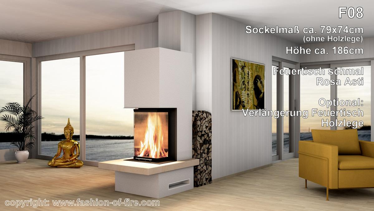 panorama kamin schmal. Black Bedroom Furniture Sets. Home Design Ideas