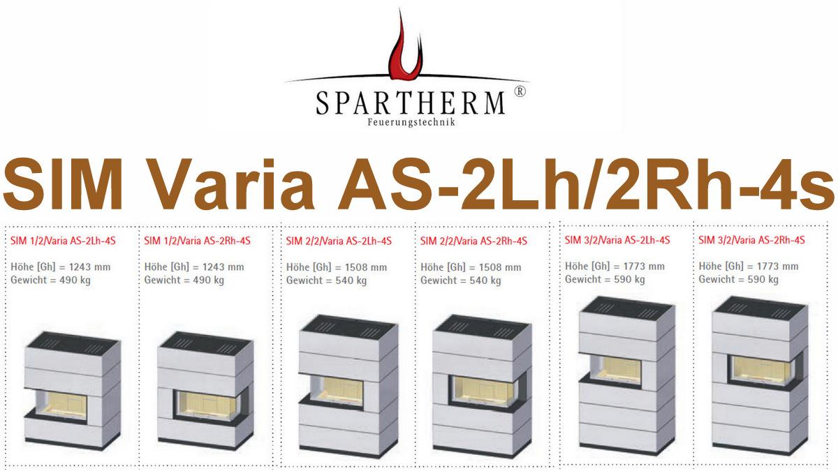 Spartherm SIM Varia AS-2Lh-4s und 2Rh-4s |Tagespreis heute: € 4.635,85