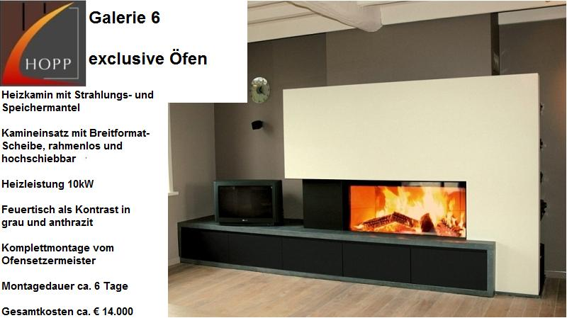 Exklusives Brunner Kamin-Design