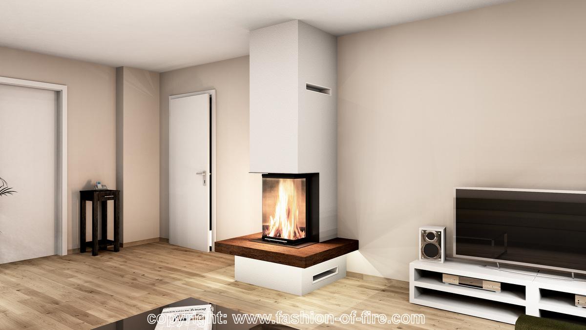 fof exklusive moderne heizkamine kaminbau brunner. Black Bedroom Furniture Sets. Home Design Ideas